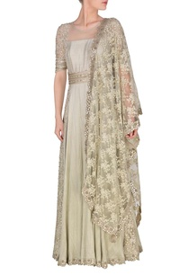 ash-grey-embroidered-anarkali-with-lace-dupatta