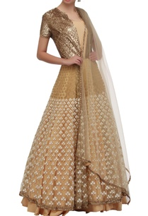 gold-embellished-anarkali-dress-with-dupatta