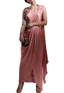 blush-pink-thread-and-bead-embellished-draped-sari
