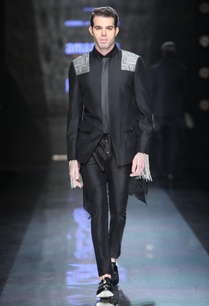 black-silk-asymmetric-shirt