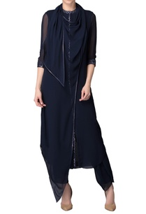 navy-blue-kurta-with-pants-dupatta