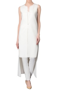white-high-low-hem-kurta-with-pants
