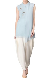 powder-blue-tunic-with-sequin-embellishments