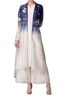 ivory-indigo-jacket-set-with-floral-work