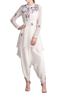 ivory-floral-embroidered-long-shirt