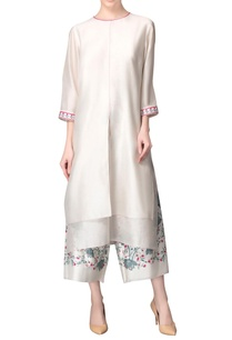 ivory-kurta-printed-culottes