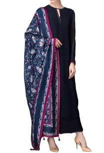 navy-blue-kurta-set