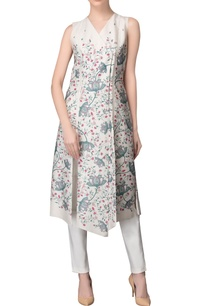 ivory-wrap-printed-kurta-trousers