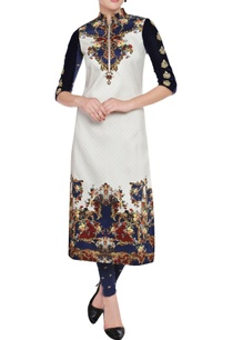 white-navy-blue-printed-kurta-leggings