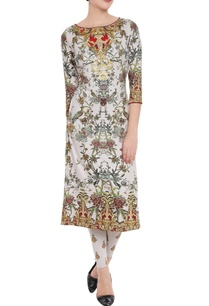 ivory-printed-kurta-leggings