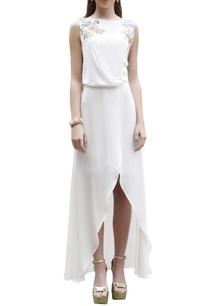 ivory-wrap-style-maxi-dress