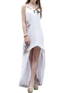 ivory-high-low-maxi-dress
