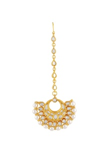 gold-polished-kundan-work-maangtikka
