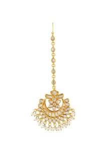 gold-polished-floral-motif-kundan-maangtikka