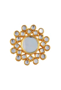 gold-plated-round-kundan-ring