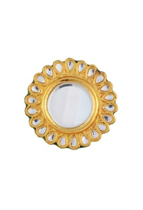 gold-plated-floral-kundan-ring