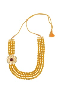 yellow-layered-necklace