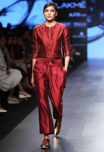 maroon-chanderi-trousers