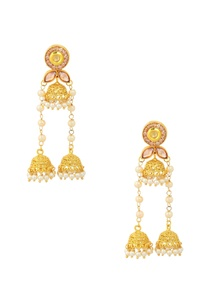 gold-finish-jhumka-dangler-earrings