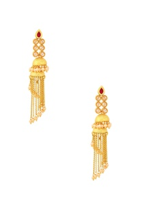 gold-finish-drop-earrings-with-jhumkas