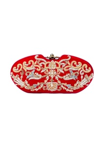 red-hand-embroidered-clutch