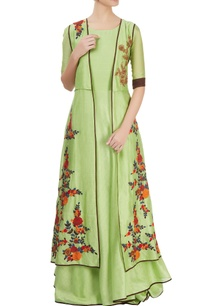 light-green-maxi-dress-with-jacket
