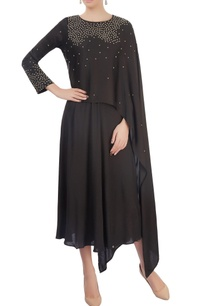 black-layered-dress