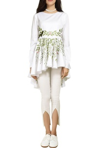 white-embroidered-peplum-top