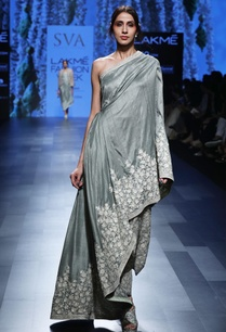 tea-green-one-shoulder-drape-gown-with-pants