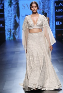 beige-embroidered-lehenga-with-cape-blouse