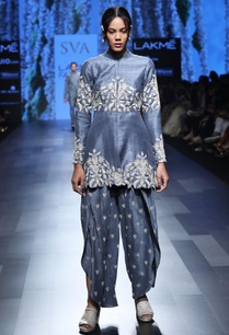 rustic-blue-floral-work-kurta-with-tulip-pants