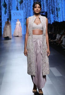 grey-embellished-tulip-pants-with-sherwani-bustier