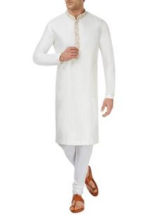 off-white-kurta-set