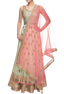 pistachio-green-pink-embellished-anarkali-set