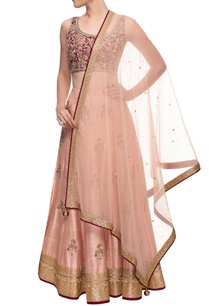 blush-pink-deep-red-embroidered-lehenga-set
