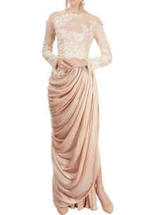 old-rose-draped-gown