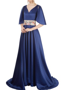 royal-blue-gown-with-belt