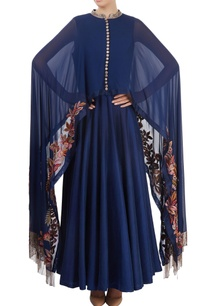navy-blue-cape-anarkali