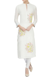 ivory-floral-thread-sequin-work-kurta