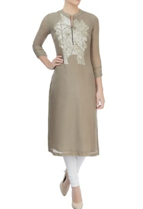 grey-hand-embroidered-sequin-finished-kurta