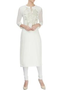 ivory-cotton-silk-sequin-finished-kurta
