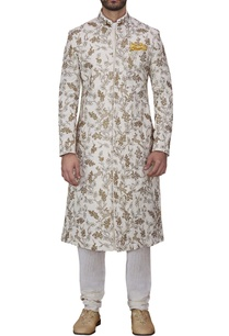 off-white-hand-embroidered-sherwani