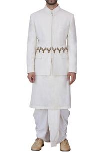 off-white-deer-motif-bandhgala