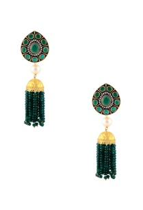 gold-green-earrings-with-stone-detailing