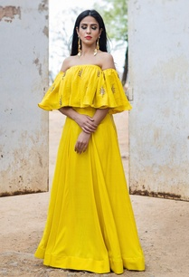 mustard-yellow-top-lehenga