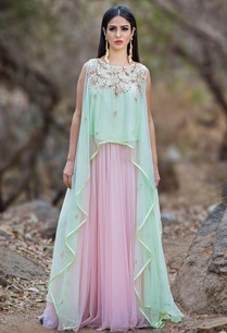 mint-green-asymmetric-top-pastel-pink-lehenga