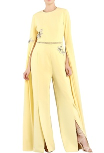 pastel-yellow-applique-jumpsuit