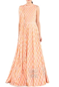 peach-printed-embroidered-anarkali