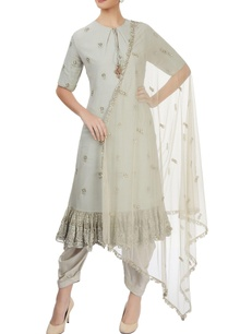 light-grey-kurta-set