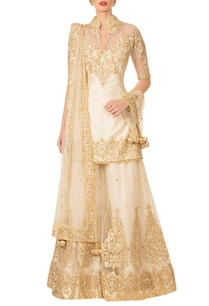 ivory-gota-patti-sharara-set